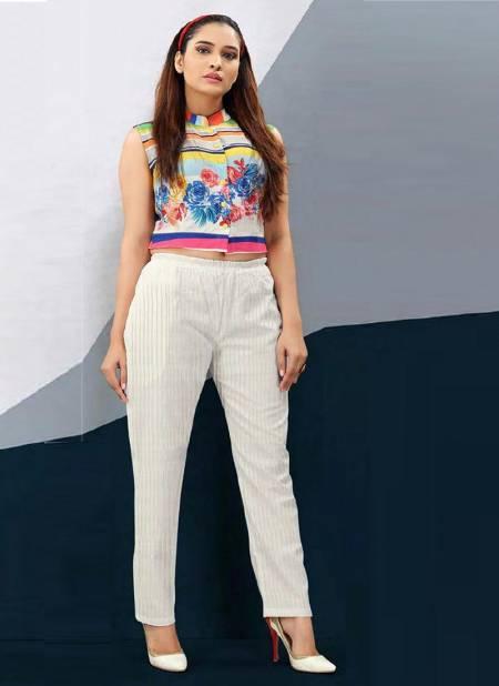 Tunic House N4u Nikhar Nx Fancy Latest Daily Wear Linen Cotton Pant Collection