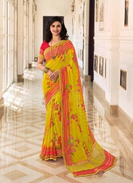 Vinay Sheesha Starwalk 64 Georgette Regular Wear Printed Designer Saree Collection