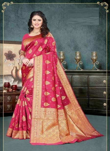 Vivera Pavitra Festive Wear Banarasi Silk Designer Fancy Saree Collection