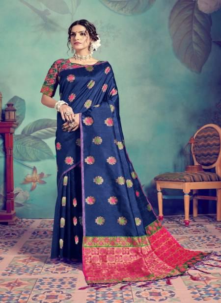 Ynf Pasudh Nx Occasion Wear Banarasi Tussar Silk Latest Designer Saree Collection