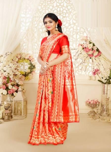 Ynf Sankhaya Latest Designer Festive Wear Poly Silk Fancy Saree Collection