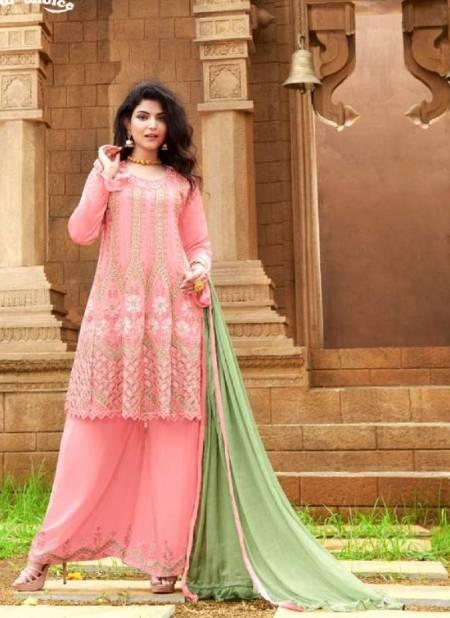 Your Choice Ragga Heavy Festive Wear Heavy Chinon Embroidery Wear Salwar Kameez Collection