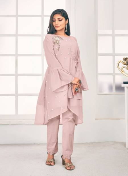 Zainab Fashion Studio Ipc 105 Georgette Party Wear Latest Top With Bottom