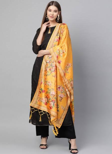 Zarika Present Latest Designer Printed Silk Dupatta