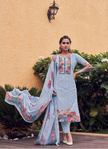 Zulfat Sigma Pure Cotton Casual Wear Printed Cotton Designer Dress Material Collection